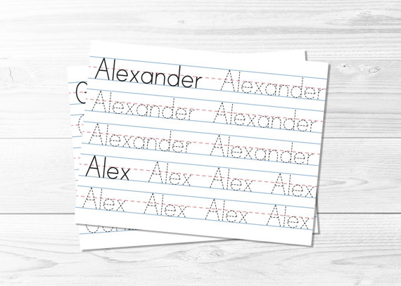 All Worksheets Make Your Own Tracing Worksheets Printable – Name Tracer Worksheets