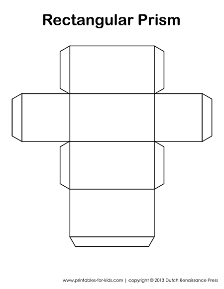 5 Images of Printable Shapes Rectangular Prism