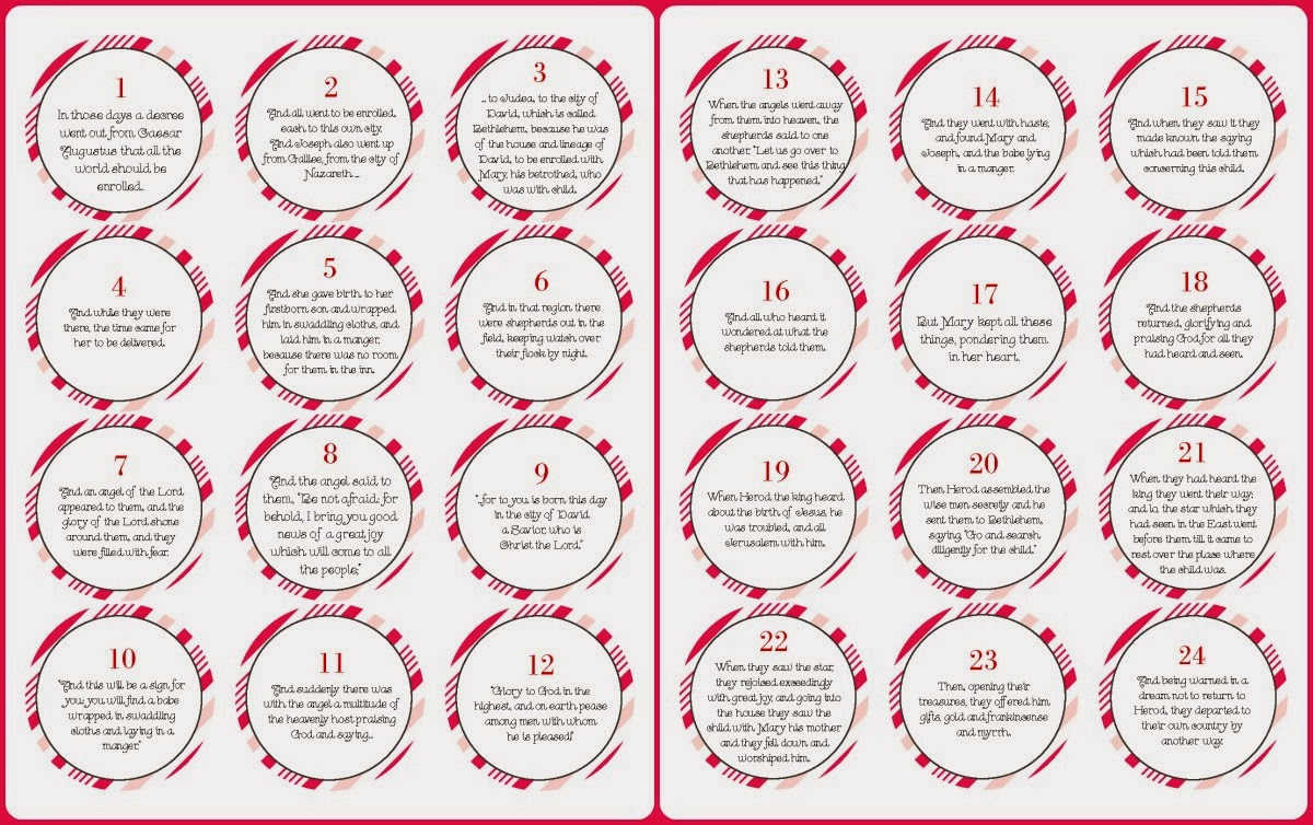 7 Images of Printable Advent Calendar Ideas