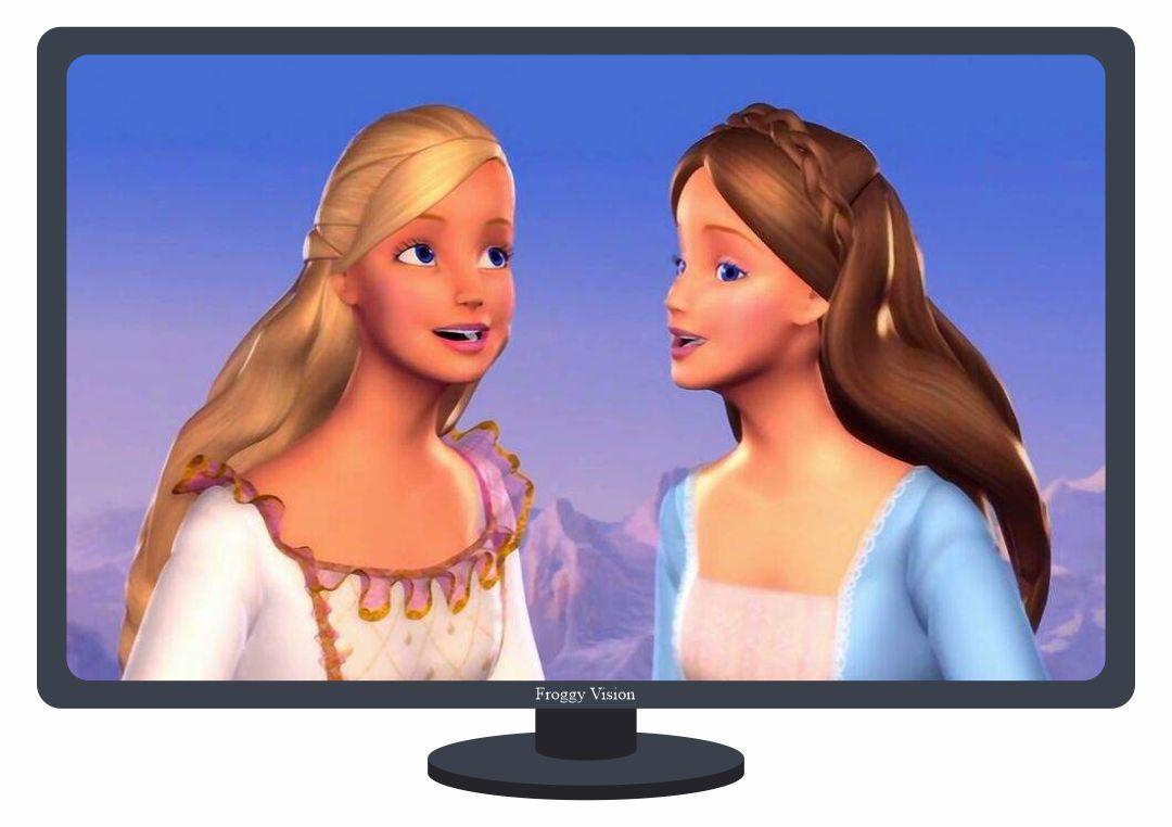 Printable Doll Flat Screen TV