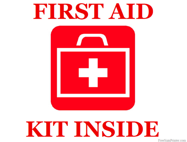 6 Images of First Aid Logo Printable