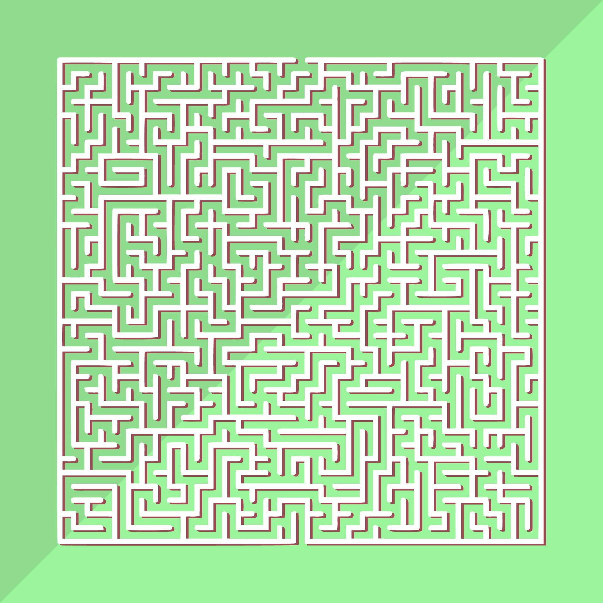 Printable Hard Mazes to Print