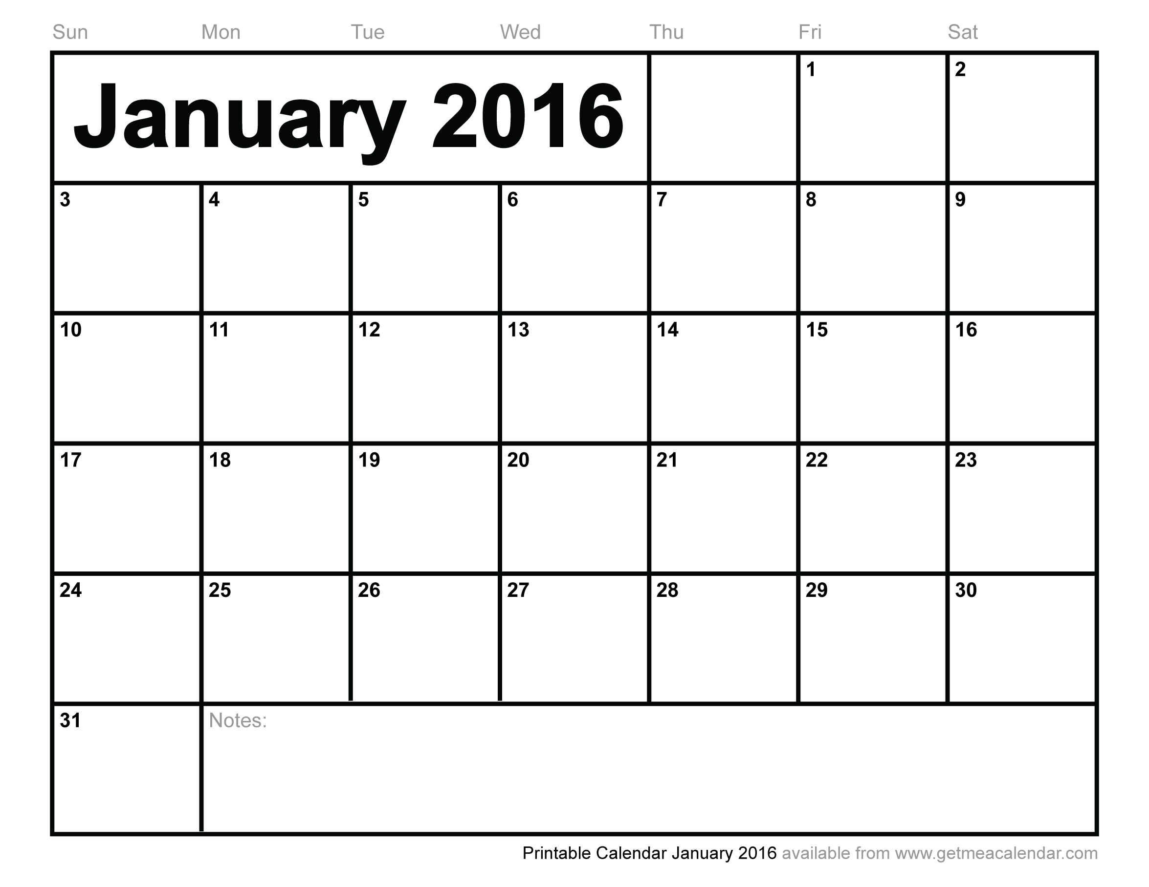 5 Images of 2016 Printable Calendar By Month