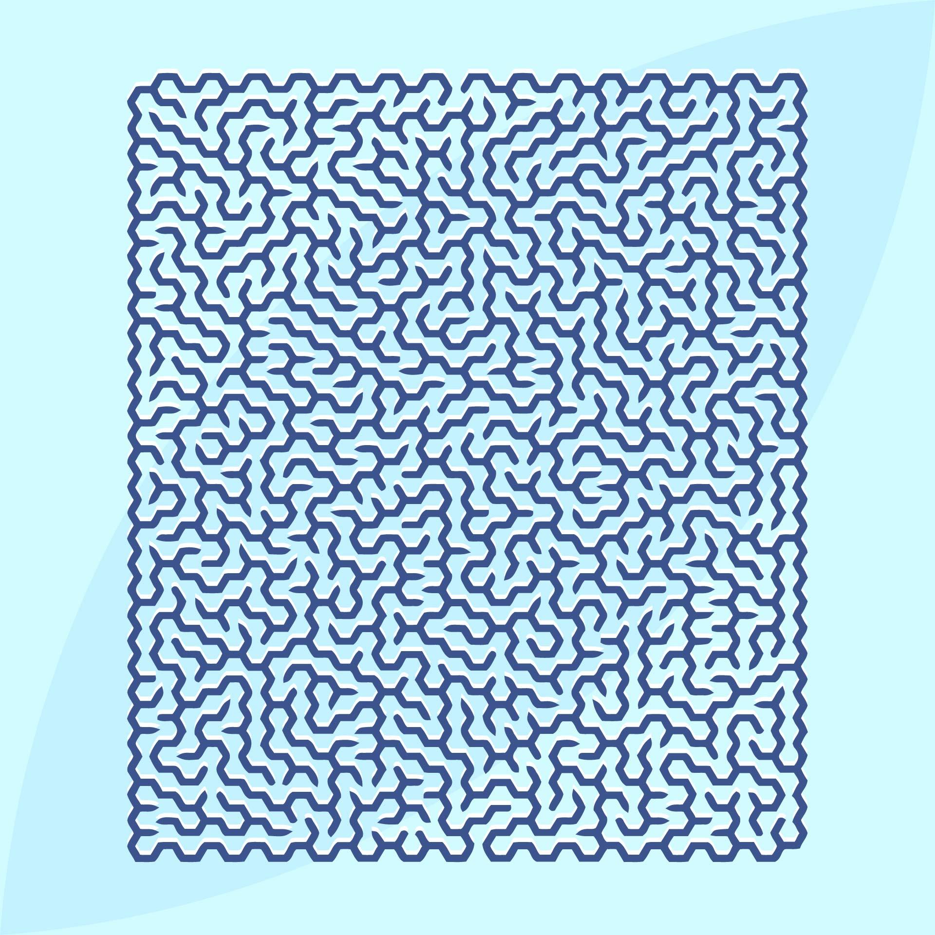 Super Hard Mazes Printable