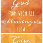 Thanksgiving Scripture Printable
