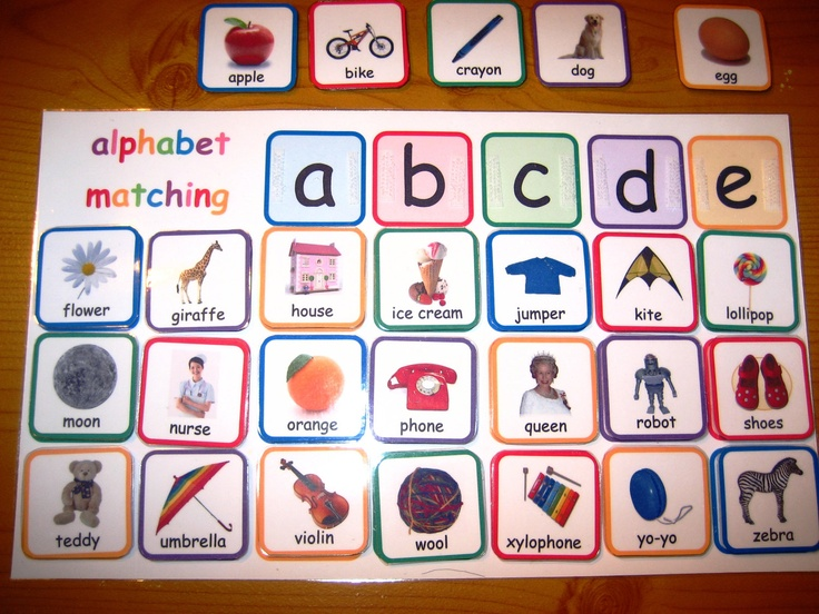 6 Images of Printable File Folder Games Alphabet