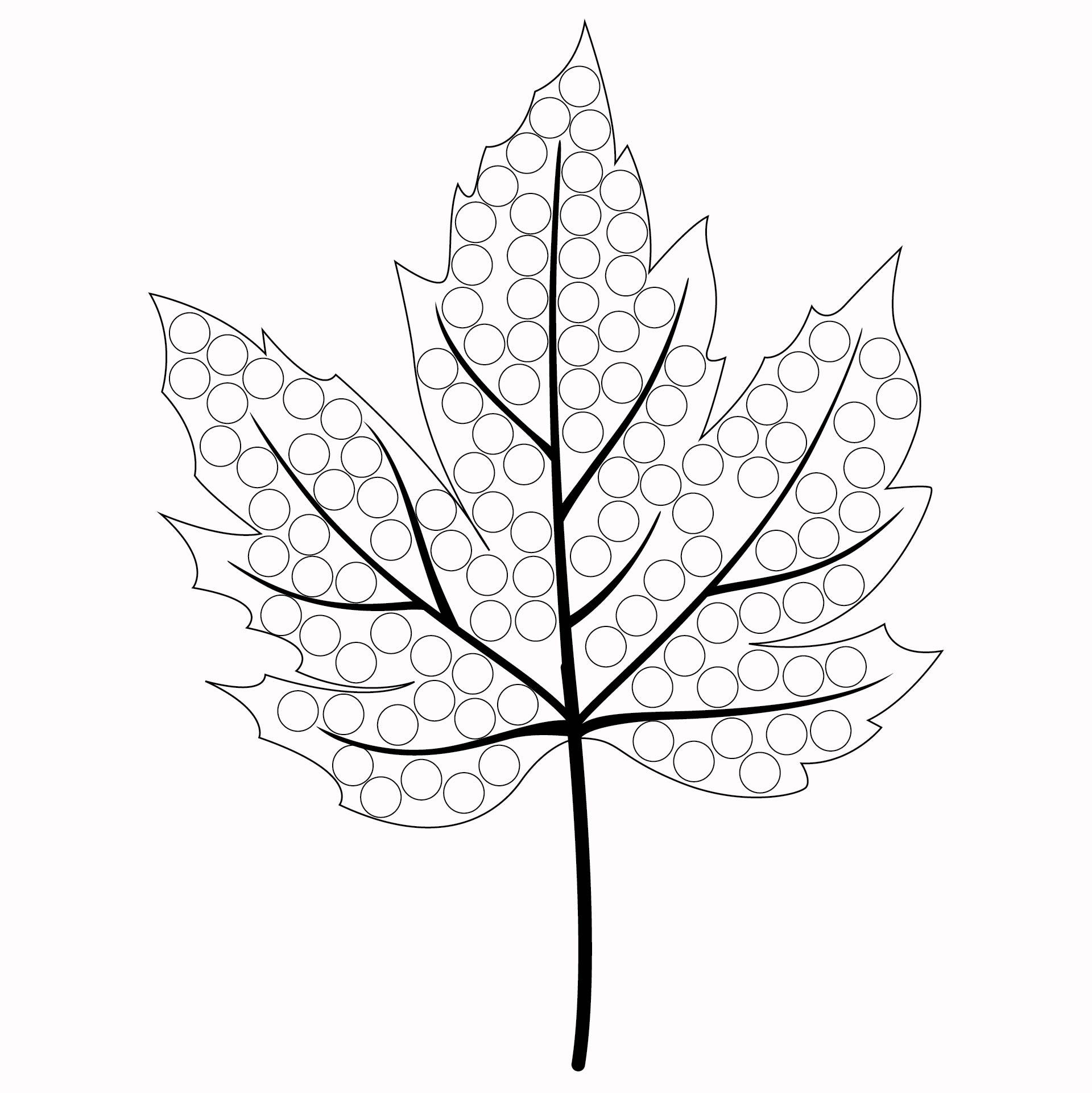 Do a Dot Art Printables Thanksgiving