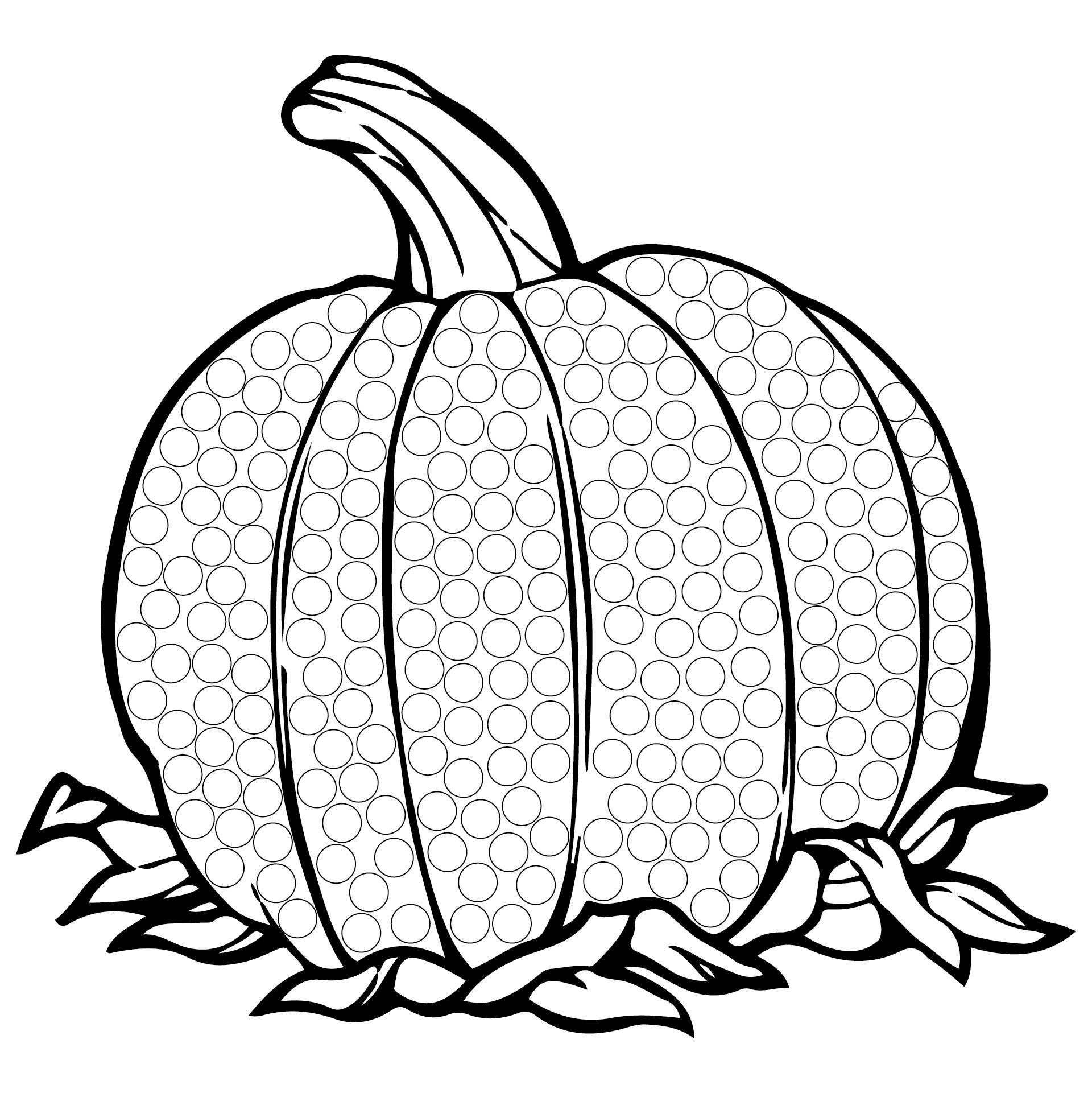 Do-A-Dot Printables Thanksgiving
