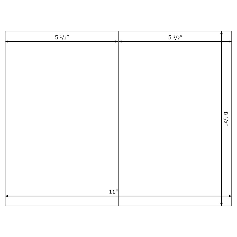 Free 5X7 Blank Greeting Card Templates