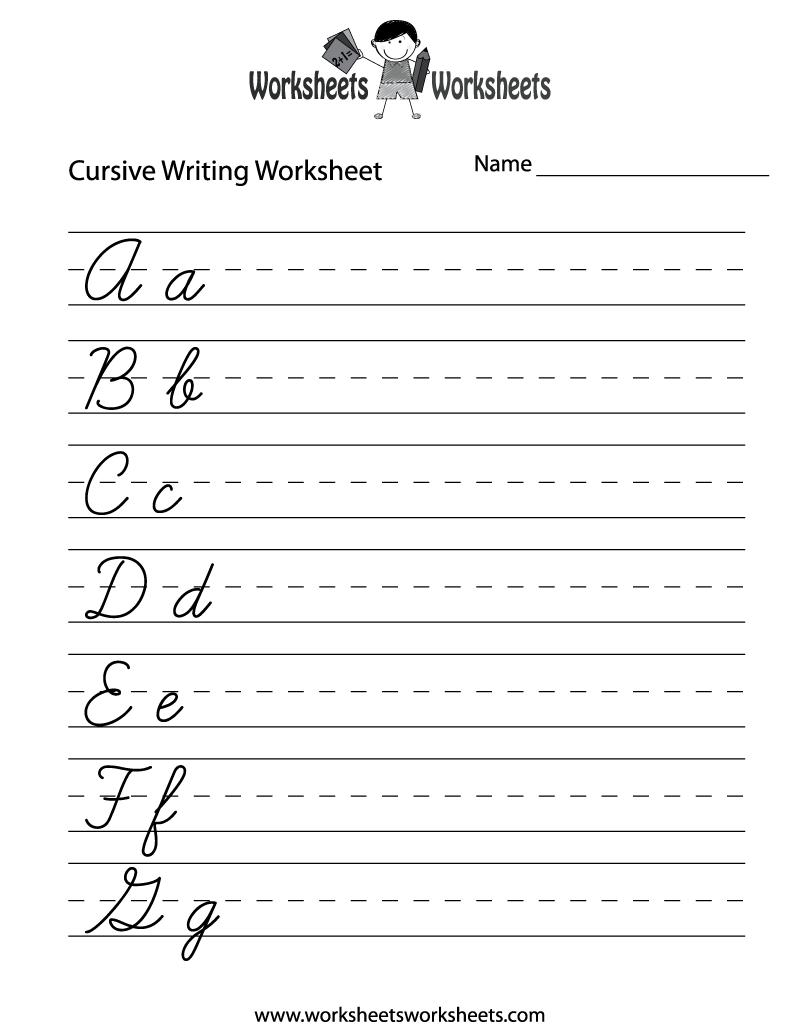 Worksheet Cursive Alphabet Printables free cursive letters worksheets printable coloring page writing worksheets