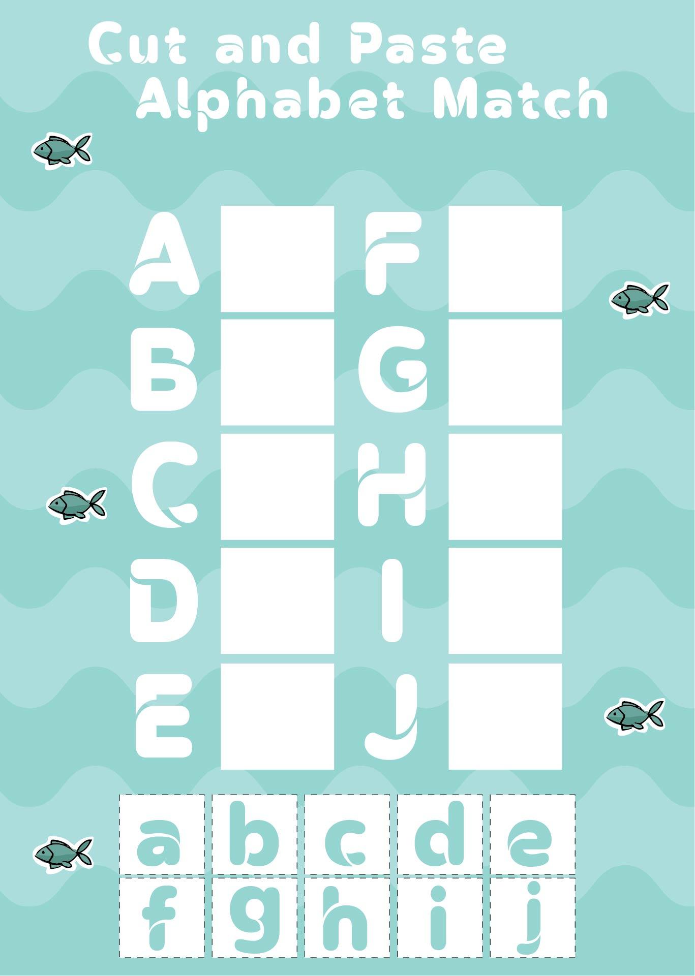 Printable Alphabet Activity Worksheets