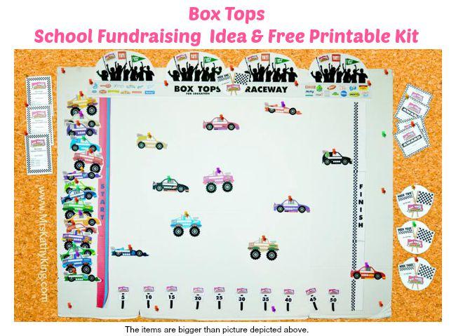 Free Printable Box Tops for School