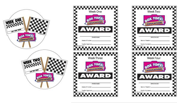7 Images of 500 Box Tops Printable For School
