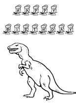 happy birthday dinosaur coloring page - 7 best images of printable folding birthday cards coloring