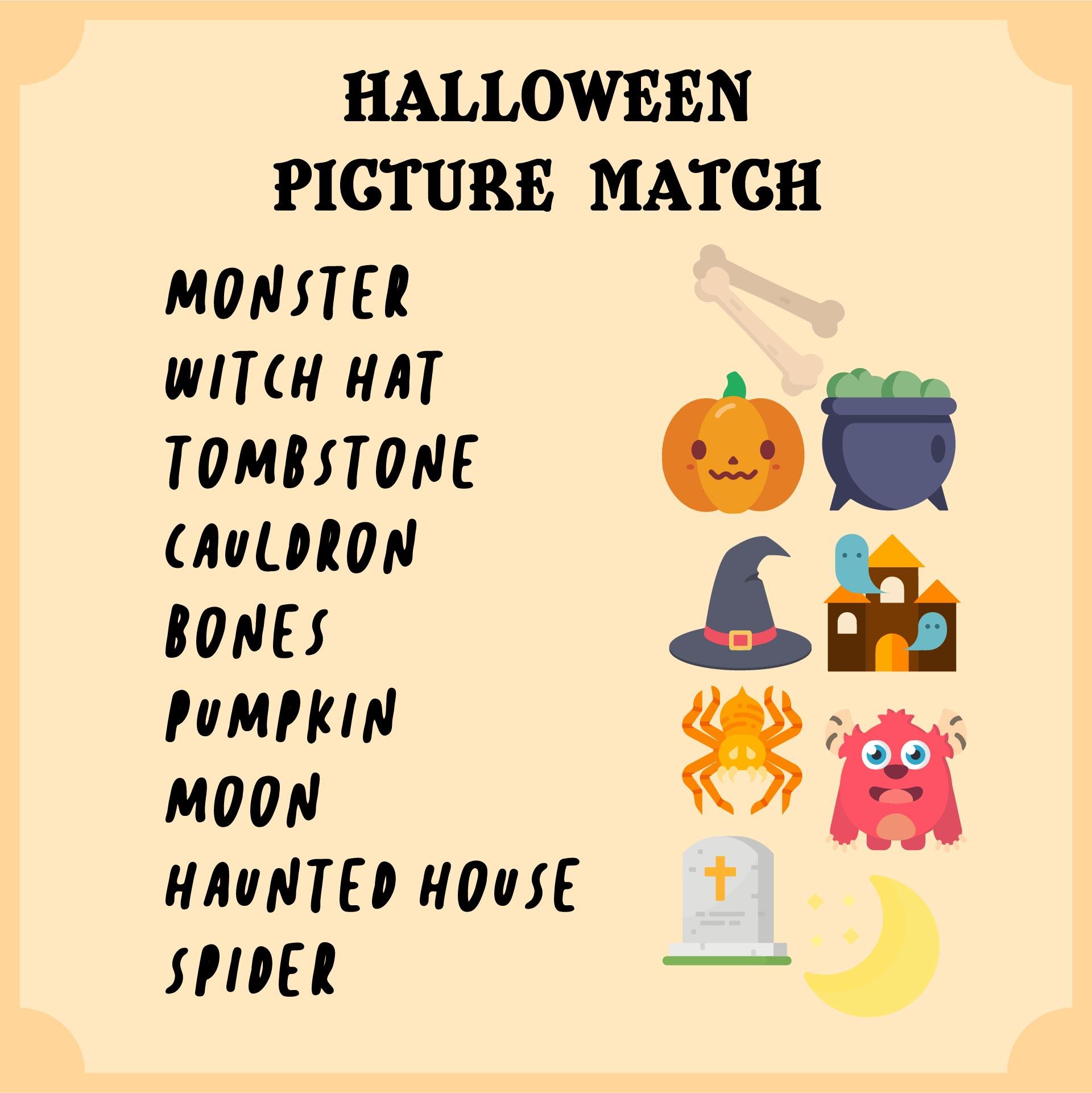 Printable Halloween Activity Worksheets
