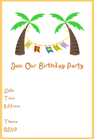 9 best images of free printable luau blank party invitations luau party invitation printable for Free printable luau invitations