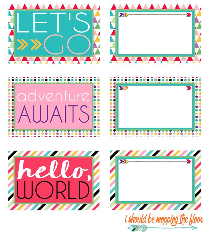 4 Images of Free Printable Luggage Tags Designs