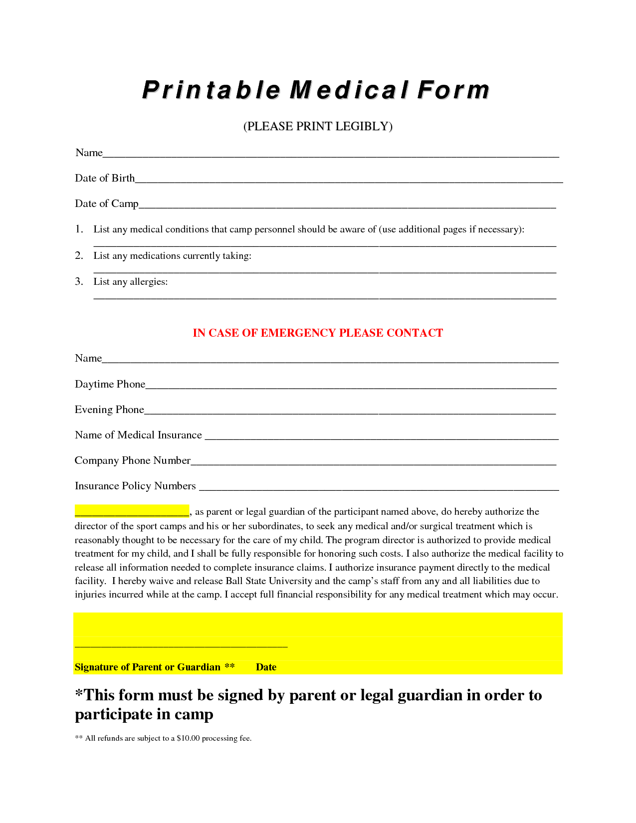9 best images of free printable office documents free printable office forms free printable
