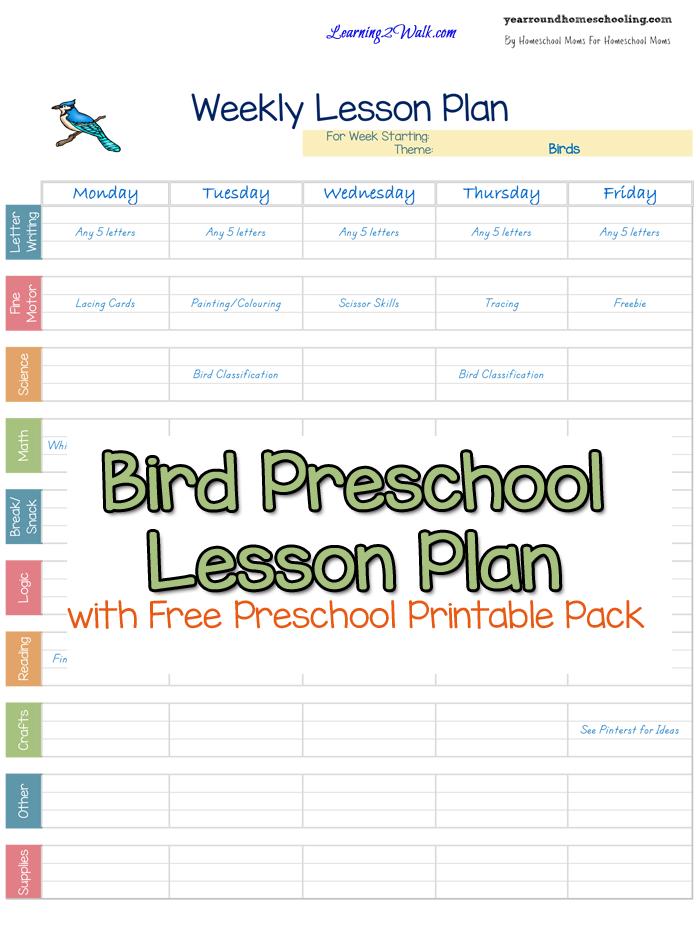 8 best images of printable preschool theme birds bird kindergarten printables birds and trees. Black Bedroom Furniture Sets. Home Design Ideas