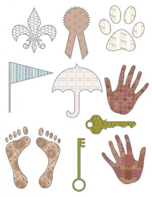 Free Printable Scrapbook Cutouts