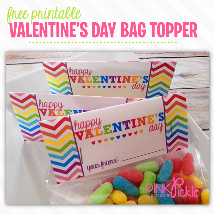 5 Images of Free Printable Cello Bag Toppers