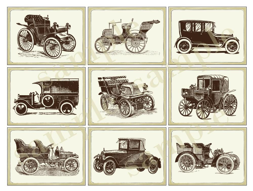 Free Printables Vintage Car