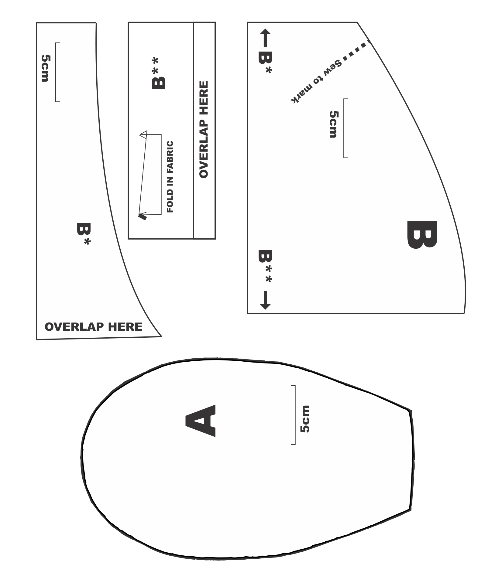 Sewing Pattern Chemo Turban