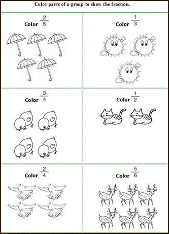 Kindergarten Spring Math Worksheets