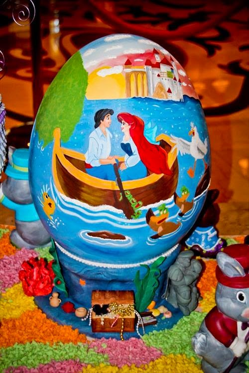 Little Mermaid Easter Eggs