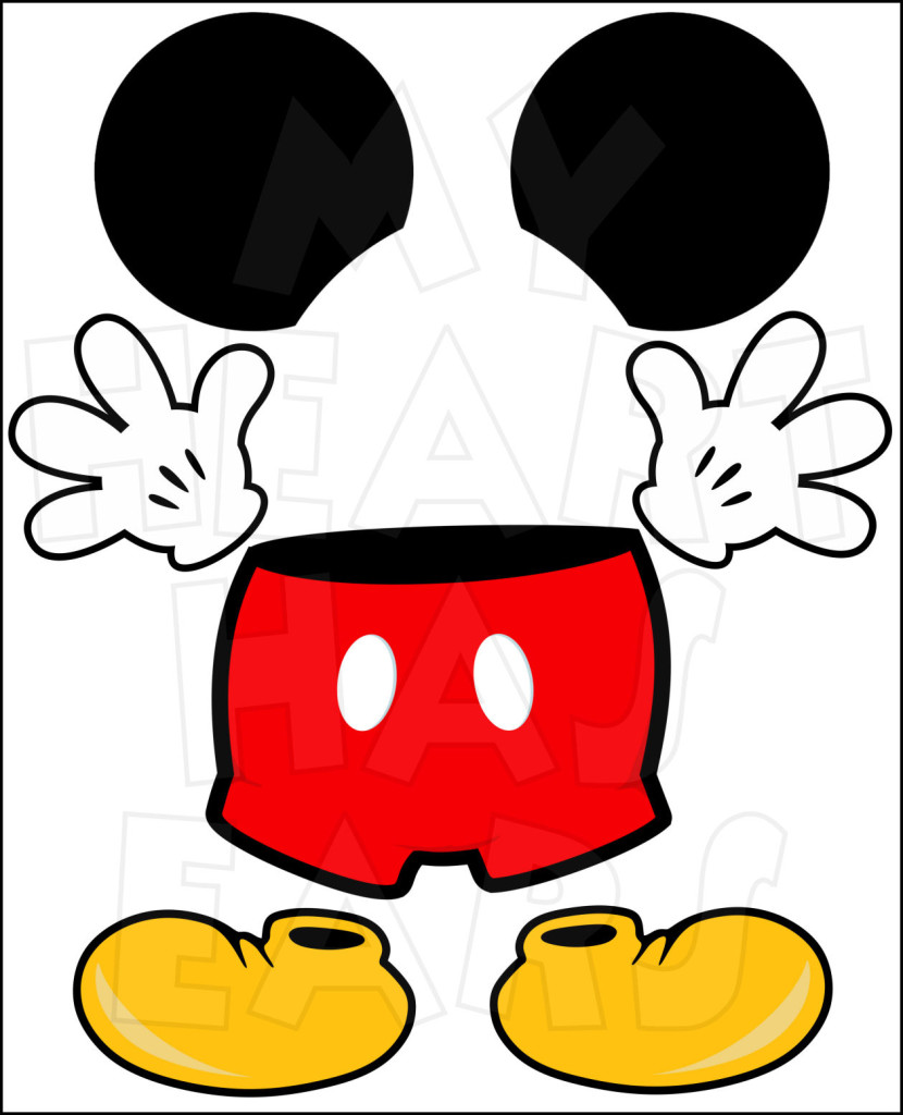 clipart of mickey mouse - photo #34
