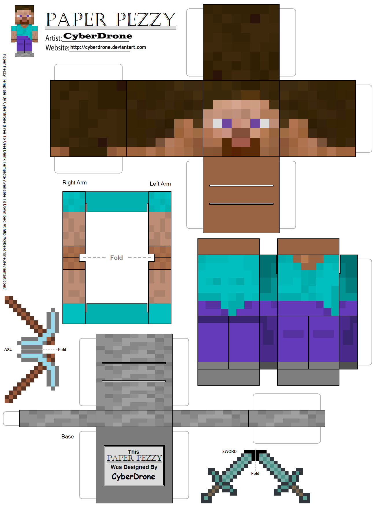 7 Images of Minecraft Arts And Crafts Printable