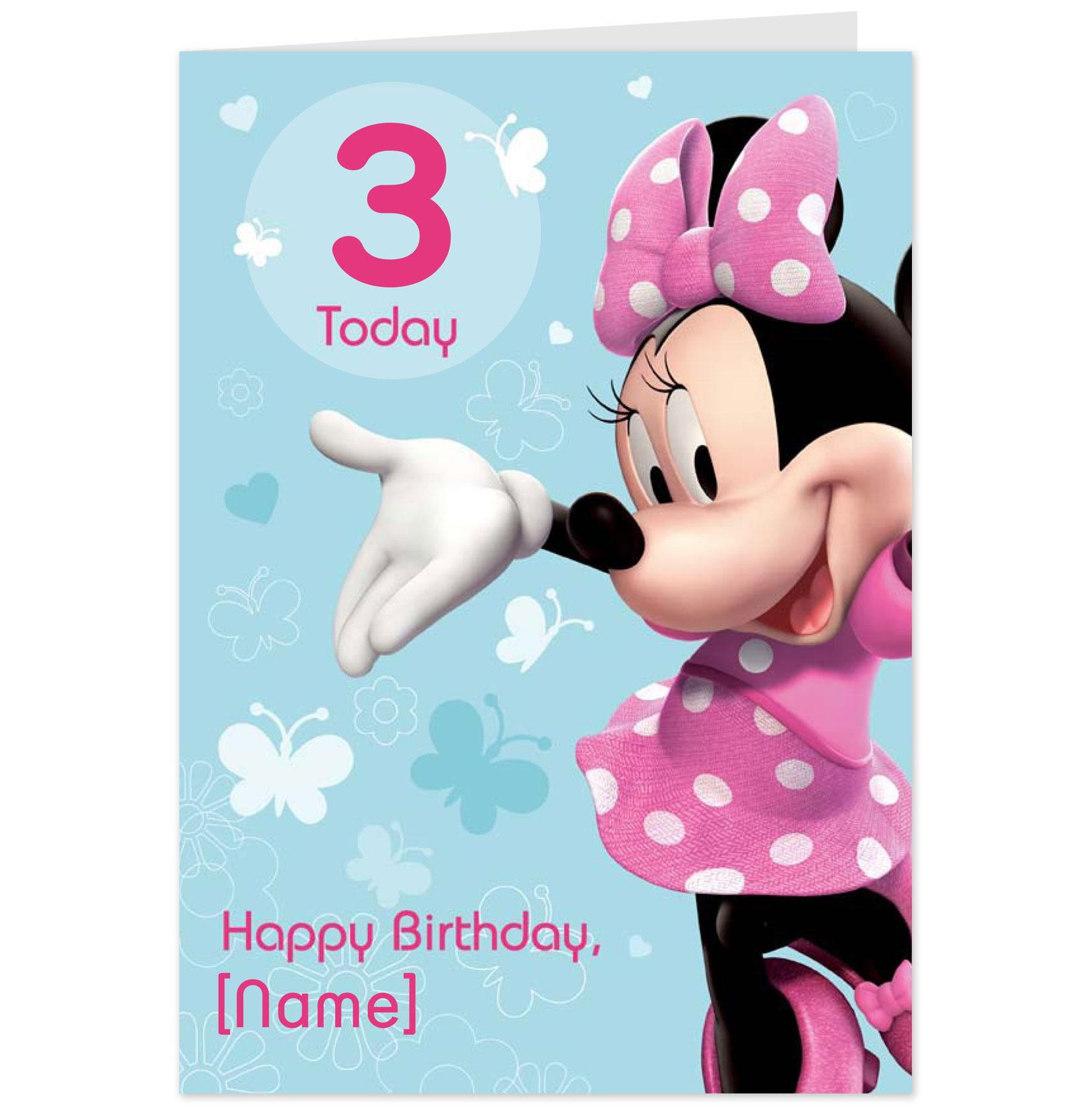 8 Best Images of Minnie Mouse Printable Birthday Cards ...