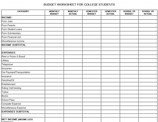 Worksheets Managing Finances Worksheet personal management budget worksheet intrepidpath 7 best images of printable basic money monthly