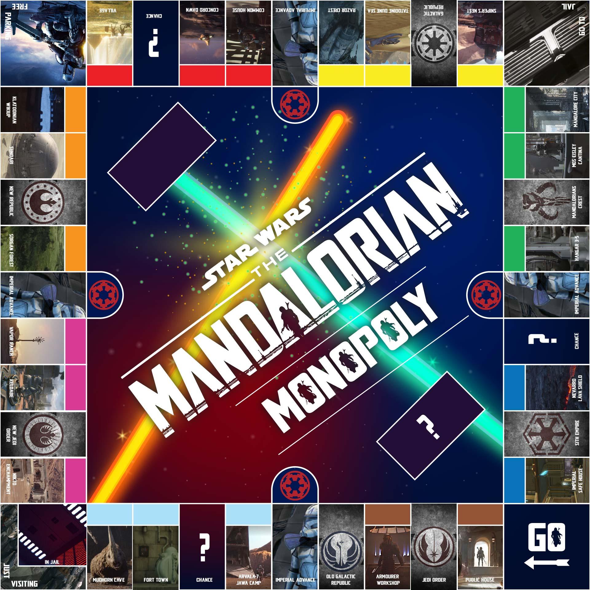 Monopoly Game Board Printable