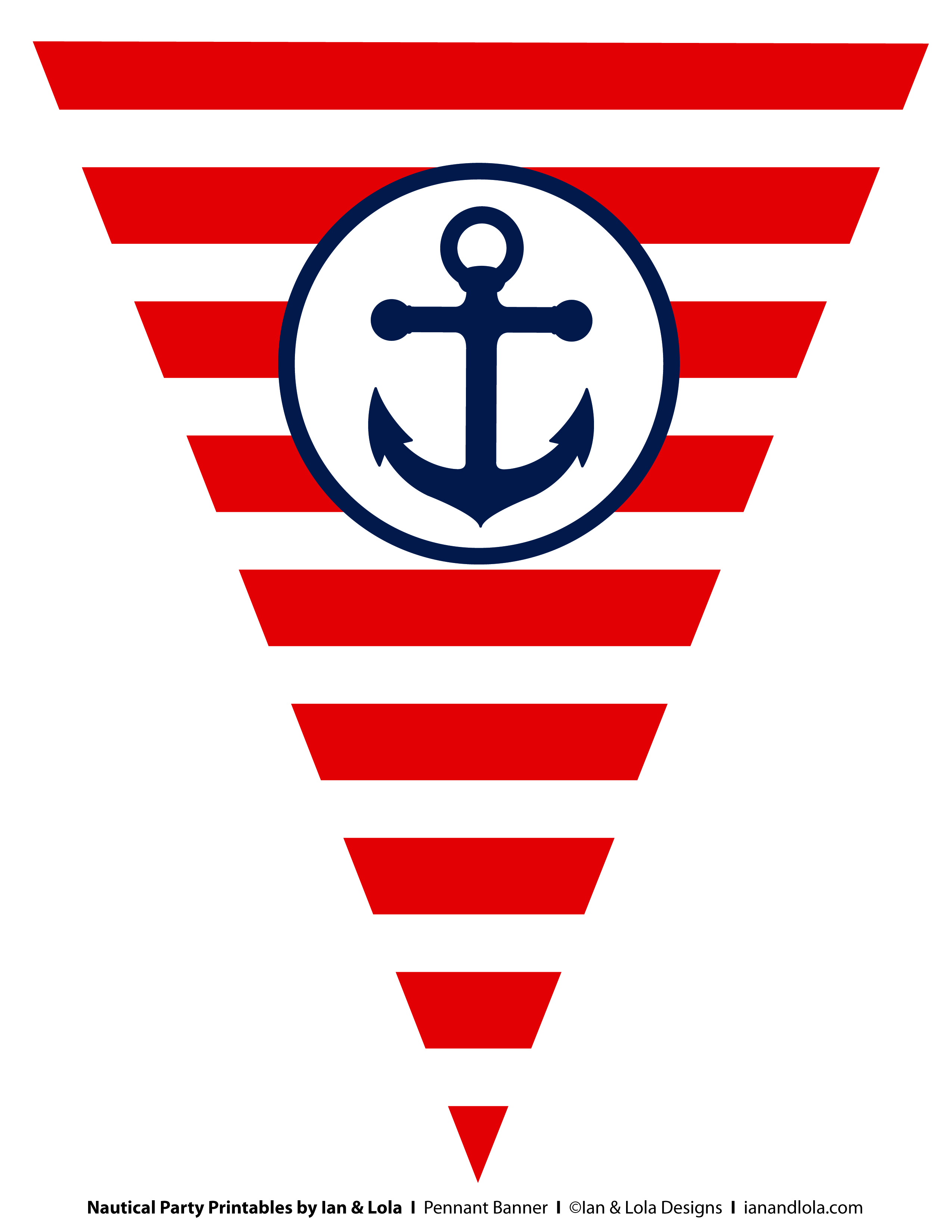 9 Images of Nautical Birthday Printables Free