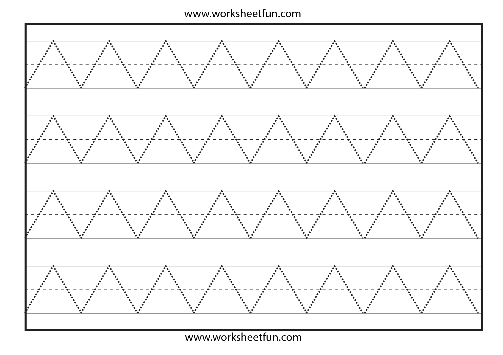 math worksheet : 6 best images of printable writing worksheets for preschoolers  : Free Printable Worksheets For Kindergarten Writing