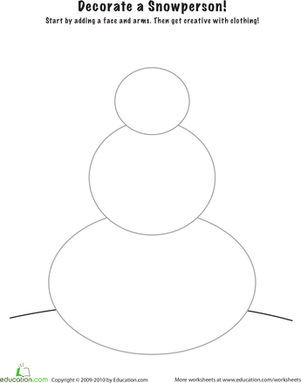 6 Best Images of Printable Snowman Counting Worksheets - Printable ...