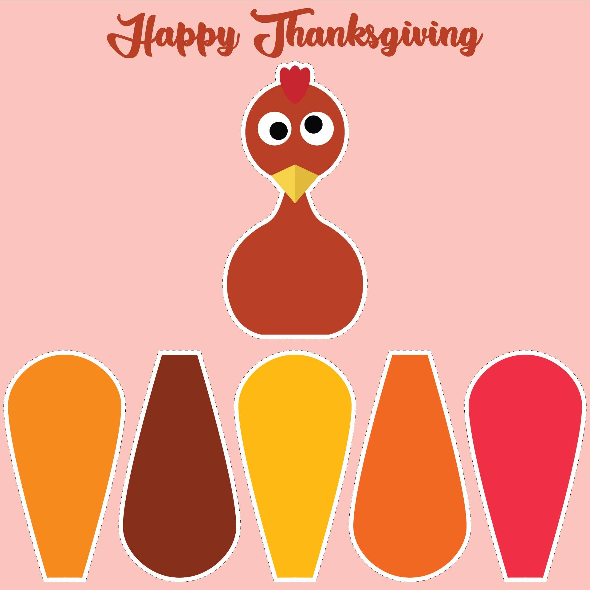 Preschool Thanksgiving Printables