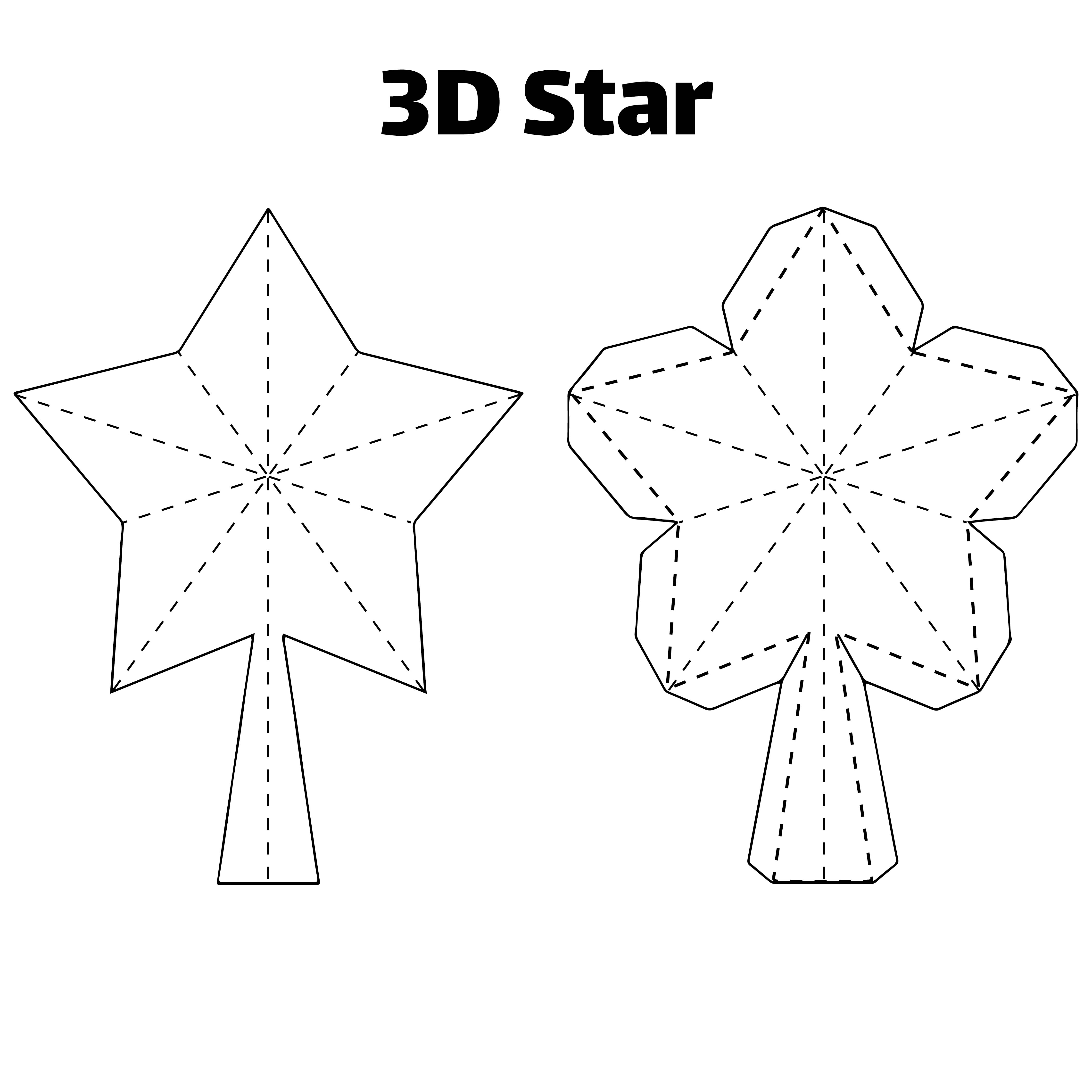 Printable 3D Christmas Decorations