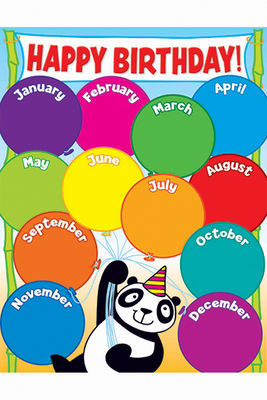 6 Images of Preschool Birthday Chart Printable