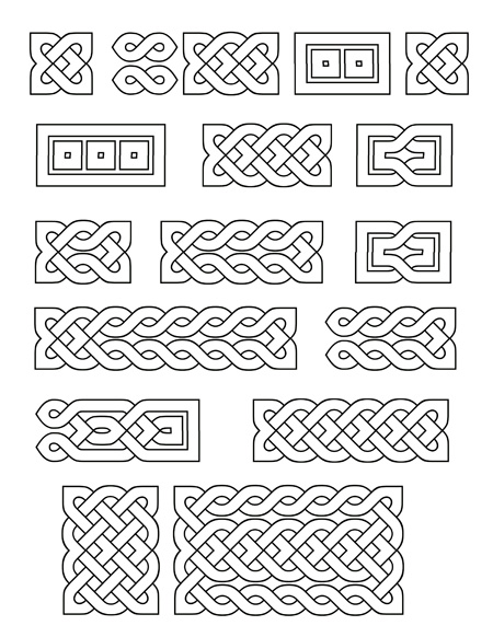 Printable Celtic Knot Designs