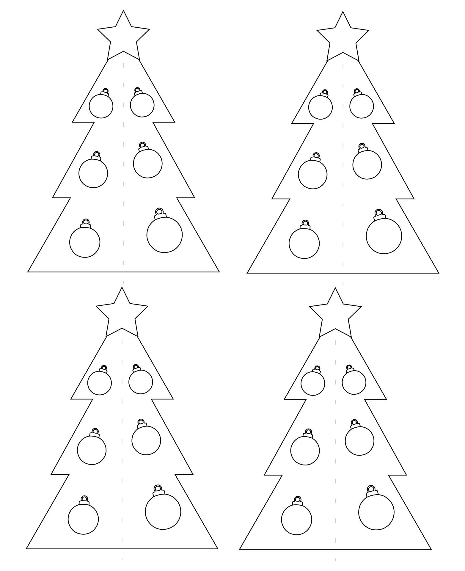 4 Images of Printable Christmas Crafts For Toddlers