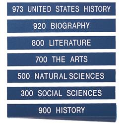 5 Images of Library Shelf Labels Printable