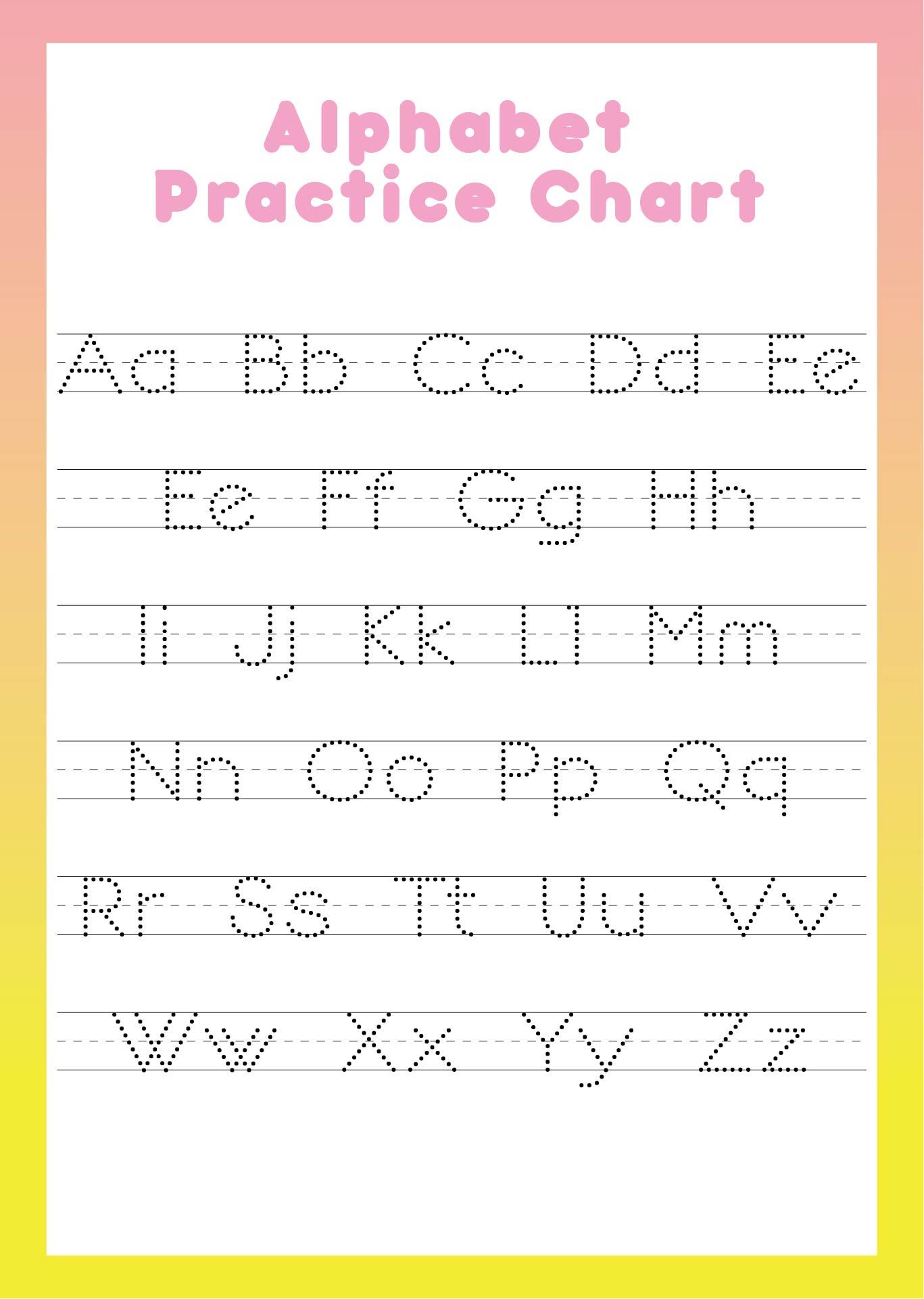 Printable Preschool Alphabet Worksheets