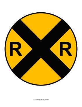 Railroad Crossing Clip Art 6 Best Images of Print...
