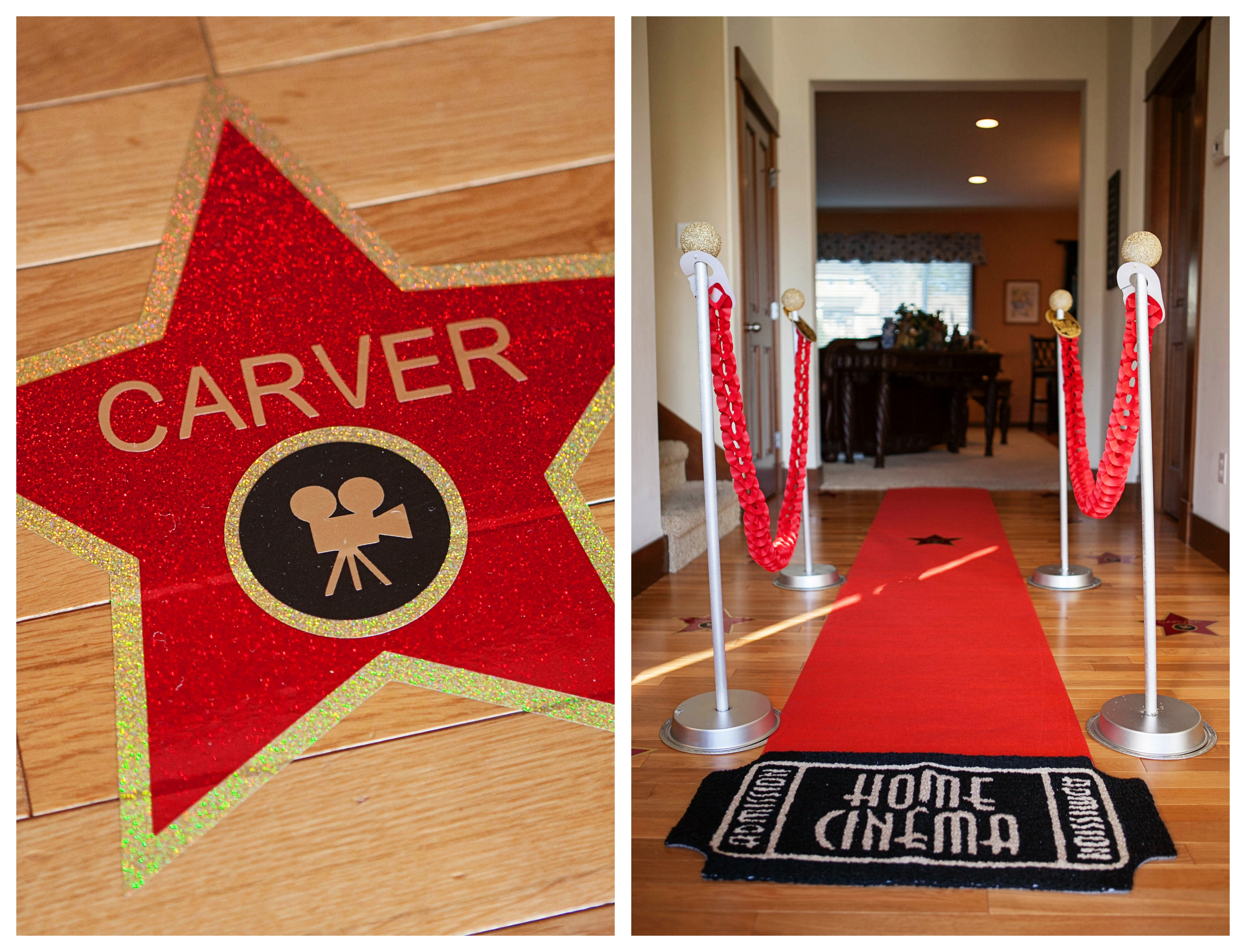 5 Images of Red Carpet Party Printables