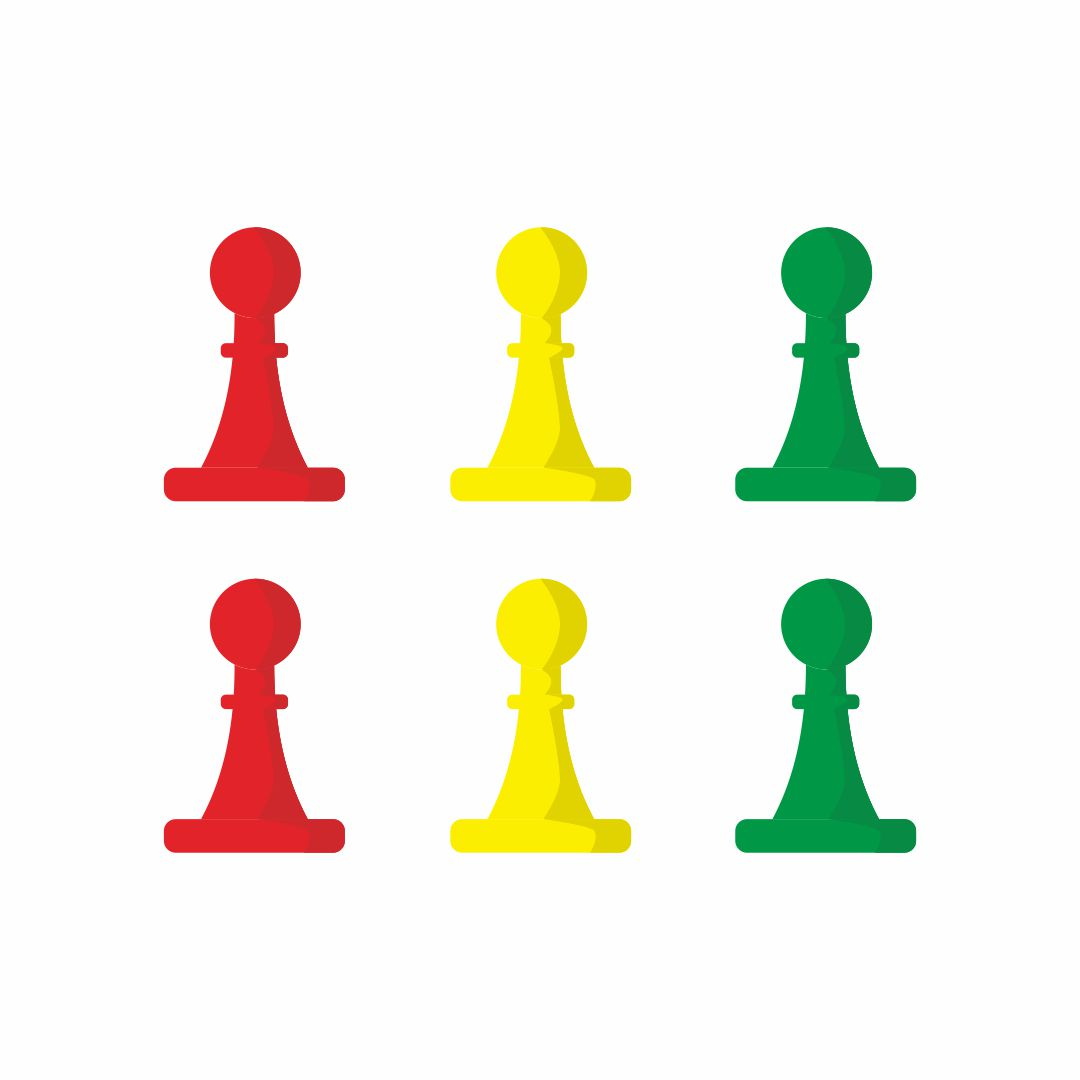 Sorry Board Game Pieces Clip Art