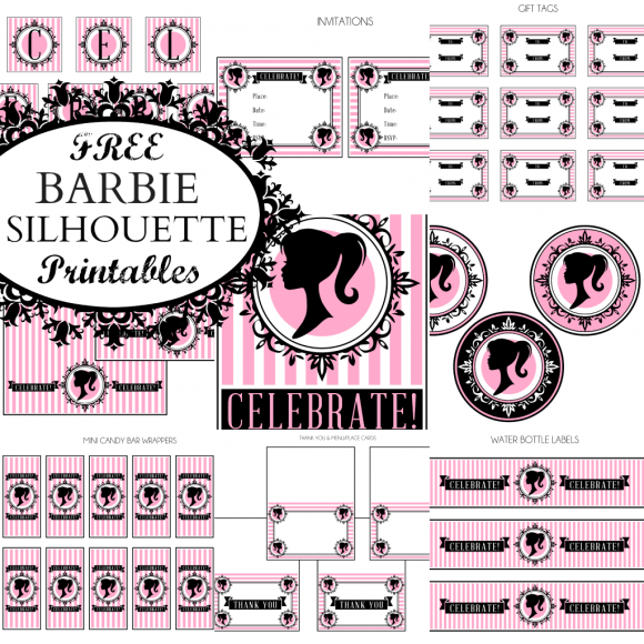 7 Images of Free Barbie Printables