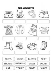 Free Cut and Paste Worksheets - K5 Worksheets