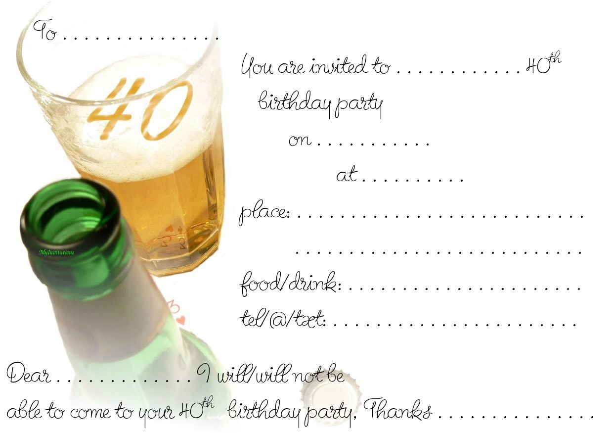 50Th Birthday Invitations Free as nice invitations ideas